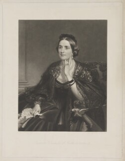 Lady Eleanor Percy (née Grosvenor), Duchess of Northumberland, by Samuel Cousins, after  Henry Weigall - NPG D39317