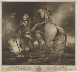 King George IV, by Francis Haward, after  Sir Joshua Reynolds - NPG D10980