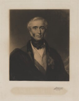 Sir William Nott, by George Thomas Payne, published by  Joseph Sandell Welch, sold by  Benjamin Jones, after  John Deffett Francis - NPG D39325