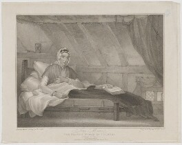 Ann Moore (née Peg), by Anthony Cardon, published by  Moseley & Tunnicliffe, after  Cornelius Linsell - NPG D38949