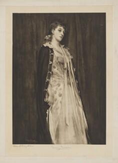 Mary Moore as Ida Ingot in 'David Garrick', after Helen Howard Hatton - NPG D38951