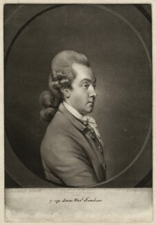George Simon Harcourt, 2nd Earl Harcourt, by and published by Valentine Green, after  Daniel Gardner, published 29 June 1772 - NPG D39336 - © National Portrait Gallery, London