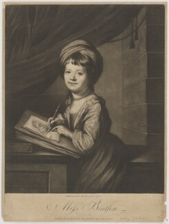 Lady Helena Oakeley (née Beatson), by James Watson, after  Katharine Read - NPG D39340