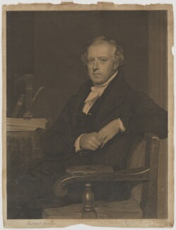 Richard Oastler, by James Posselwhite, after  Benjamin Garside - NPG D39349