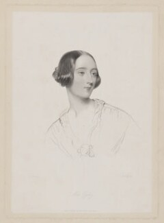 Miss Ogilvy, by William Henry Egleton, published by  David Bogue, after  John Hayter - NPG D39351