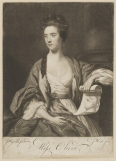 Miss Oliver, by Giuseppe Filippo Liberati ('Joseph') Marchi, published by  Ryland and Bryer, after  Sir Joshua Reynolds - NPG D39354