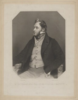 Charles Henry St John O'Neill, Earl O'Neill, by Joseph Brown, published by  George Virtue, after  Thomas Phillips - NPG D39355