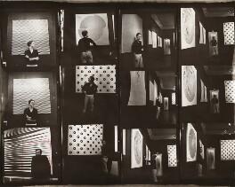 Bridget Riley; Jeffrey Steele, by Ida Kar, 1963 - NPG x134210 - © National Portrait Gallery, London