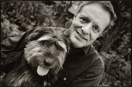 Robin Gibson with Ted, by Nick Sinclair - NPG x134214