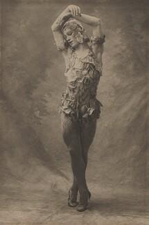 Vaslav Nijinsky in 'Le Spectre de la Rose', by (Auguste) Bert - NPG x134200