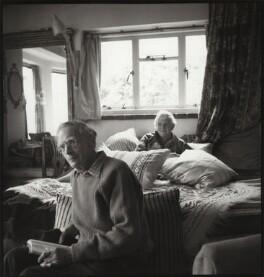 Ivon Hitchens; Mary Cranford ('Mollie') Hitchens (née Coates), by Ida Kar - NPG x134215