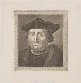 Sir Thomas More, by Thomas Holloway - NPG D39006