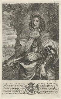 George Monck, 1st Duke of Albemarle, by Edward Davis (Le Davis) - NPG D39421
