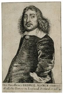 George Monck, 1st Duke of Albemarle, by Richard Gaywood, circa 1660 - NPG D39423 - © National Portrait Gallery, London