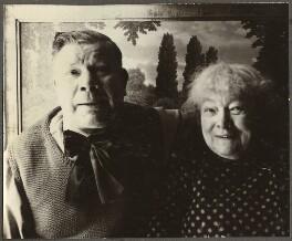 Camille Bombois with his wife Eugénie Christophe, by Ida Kar - NPG Ax134243