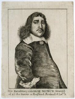 George Monck, 1st Duke of Albemarle, published by Edward Harding, after  Richard Gaywood - NPG D39425