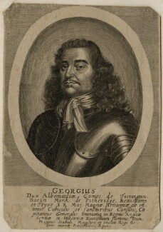 George Monck, 1st Duke of Albemarle, after Unknown artist - NPG D39428