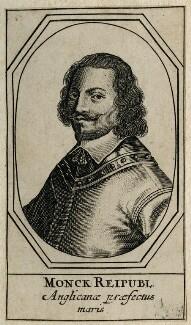 George Monck, 1st Duke of Albemarle, after Unknown artist - NPG D39431