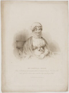 Hannah More, by Edward Scriven, published by and after  Joseph Slater - NPG D39017