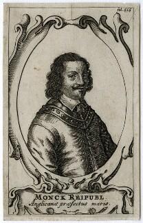 George Monck, 1st Duke of Albemarle, after Unknown artist - NPG D39432