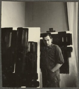 Pierre Soulages, by Ida Kar - NPG Ax134249