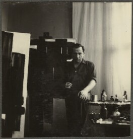 Pierre Soulages, by Ida Kar - NPG Ax134250