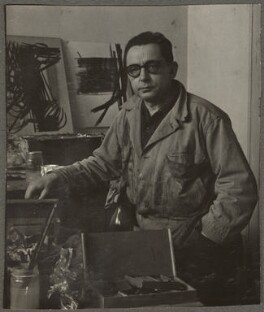 Hans Hartung, by Ida Kar - NPG Ax134252