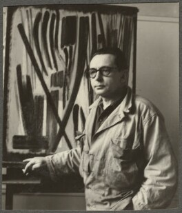 Hans Hartung, by Ida Kar - NPG Ax134253