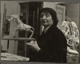 Germaine Richier, by Ida Kar - NPG Ax134262