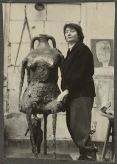 Germaine Richier, by Ida Kar - NPG Ax134265