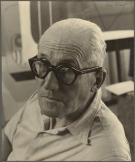 Le Corbusier, by Ida Kar - NPG Ax134267
