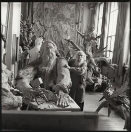 Sergei Konenkov, by Ida Kar, 1962 - NPG x134219 - © National Portrait Gallery, London