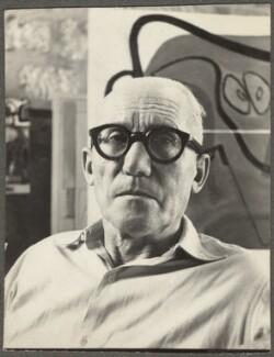Le Corbusier, by Ida Kar - NPG Ax134268