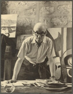 Le Corbusier, by Ida Kar - NPG Ax134270