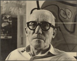 Le Corbusier, by Ida Kar - NPG Ax134274