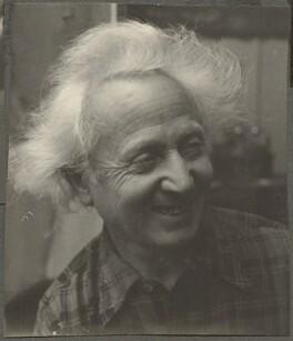 Emmanuel Mané-Katz, by Ida Kar, 1954 - NPG Ax134288 - © National Portrait Gallery, London