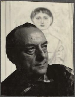 Massimo Campigli (né Max Ihlenfeld), by Ida Kar - NPG Ax134309