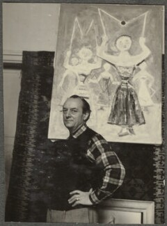 Massimo Campigli (né Max Ihlenfeld), by Ida Kar - NPG Ax134311