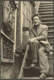 Alberto Giacometti, by Ida Kar, 1954 - NPG Ax134320 - © National Portrait Gallery, London