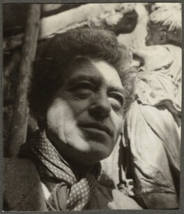 Alberto Giacometti, by Ida Kar - NPG Ax134321
