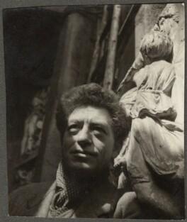 Alberto Giacometti, by Ida Kar - NPG Ax134322