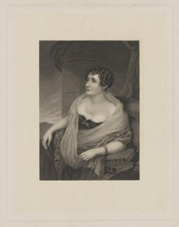 Sydney Morgan (née Owenson), Lady Morgan, after Samuel Lover - NPG D39026