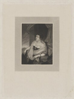 Sydney Morgan (née Owenson), Lady Morgan, by Robert Cooper, after  Samuel Lover - NPG D39027