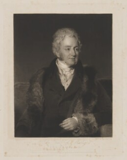 John Parker, 1st Earl of Morley, by William Say, published by  Colnaghi, Son & Co, after  Frederick Richard Say - NPG D39036