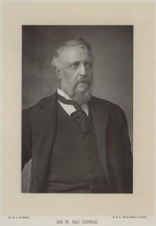 Sir William MacCormac, 1st Bt, by W. & D. Downey, published by  Cassell & Company, Ltd - NPG x20201