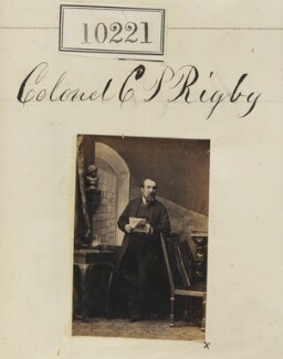 Christopher Palmer Rigby, by Camille Silvy - NPG Ax59936