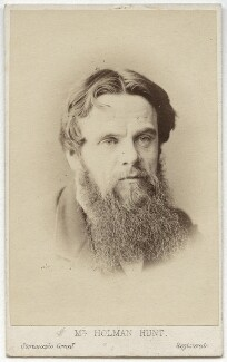 William Holman Hunt, by London Stereoscopic & Photographic Company - NPG x11985