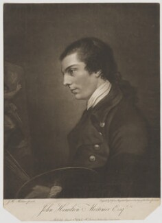 John Hamilton Mortimer, by Valentine Green, published by  Ireland, after  John Hamilton Mortimer - NPG D39053