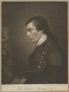 John Hamilton Mortimer, by Valentine Green, after  John Hamilton Mortimer - NPG D39054