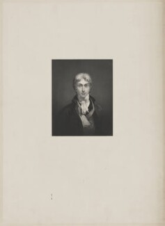 Joseph Mallord William Turner, by William Holl Jr, after  Joseph Mallord William Turner - NPG D39433